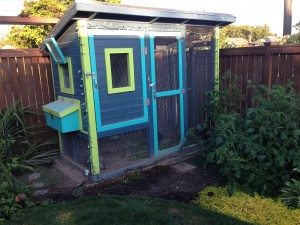 Mr. Magill's chicken coop.
